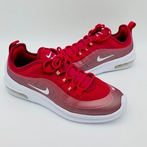NIKE AIR MAX AXIS Cherry Red / Silver